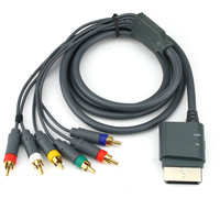 COMPONENT HD AV HIGH DEFINITION HDTV CABLE FOR XBOX 360
