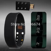 Multifunctional USB Smart Bracelet with 3D sports electronic Pedometer & Sleep Monitor usb flash Bracelet watch smart watch