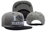2014 Summer Diamond Snapback hat for men women Snapback Hip hop bboy cap bone snap basketball Baseball Cap Adjustable 7styles