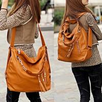 hot sale 2014 fashion 2 Colors Synthetic leather women handbag bag leather shoulder messenger bags special offer SV19 SV010003