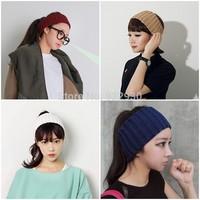 Fashion Womens Mens Knit Crochet Empty Head Hats Ladies Sport  Wide Headband Headwrap Hairband