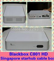 Newest building server,singapore starhub cable box Blackbox hd c801 black box c801 HD support nagra3,watch BPL+HD+HK drama movie