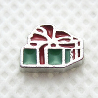 20pcs/lot Free Shipping Diy Fashion Alloy Enamel Christmas Gift Floating Charm For Origami Owl Memory Living Locket