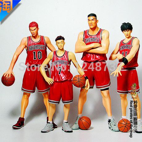 Japanese Anime Slam Dunk PVC Action Figures Dolls ,Sakuragi Hanamichi Doll, Birthday Christmas Gifts, toys for teenagers(China (Mainland))
