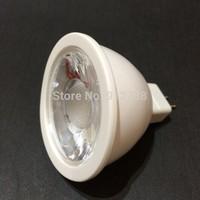 20pcs/lot Free shipping DHL Warranty 2 years MR16 6W LED Bulb lamp 12V Warm White/ white cob LED spot light,Plastics body