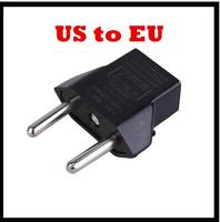free shipping!2pcs/lot Universal Travel Power Adapter charger USA US Plug Convert to EU Europe plug