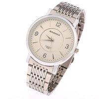 Original Men's Vacation Steel Belt Movement Quartz Watches, Fashion Stencil Jewelry Decoration Luxury Watches A-6008