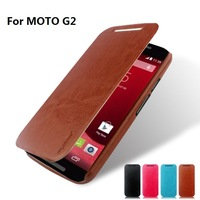 leather flip case for Moto G2 phone case for Motorola moto G forte G+1,G Forte,xt1063,XT1068,XT1069 flipcase + 1screen protector