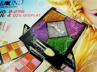 2014 new sequined glitter eyeshadow pink colored eyeshadow eye makeup makeup wholesale free shipping