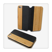 For Apple iPhone 5 5S Rock Wood Series Top Grade Luxury Stand Leather Case For iPhone 5 5S Leather Case Cover