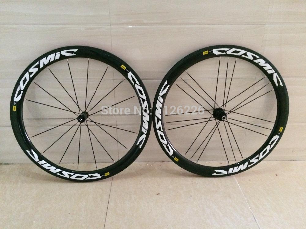 Mavic cosmic carbone sl slr wheels 50mm full carbon road bike wheels