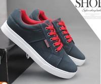 Korean men's casual shoes men shoes British fashion trend shoes matte canvas shoes