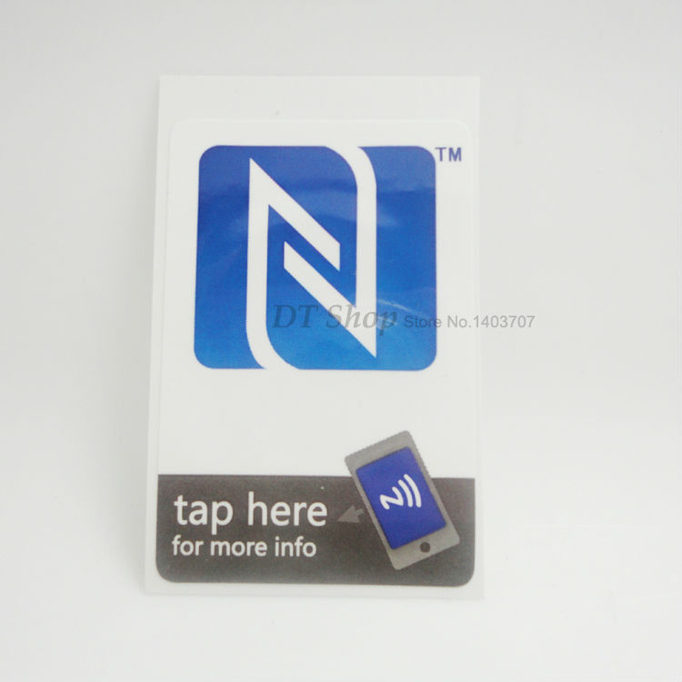 10pcs/Lot NFC Tags Smart Stickers Ntag203 Uhf Tag Have A Lot of Interesting Things Waitting for You,NFC-12,Free shipping(China (Mainland))