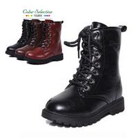 New brand Boys &Girls Combat Boots Children Shoes Girls Boots Boys Shoes Martin Boots Shoes High Help Girls Shoes SRTX5018