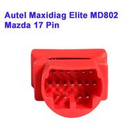 Hot 2014 NEW Autel Maxidiag MD802 Mazda OBD-I 17 Pin Adapter Mazda 17 Pin Connector