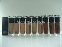Free DHL 30PCS/lot NEW 9 COLOR (NC15 20 25 30 35 40 45 50 55)M-C makeup liquid Foundation Matchmaster foundation SPF 15 35ML