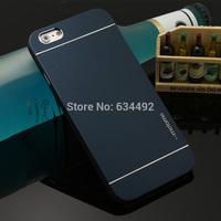 Motomo Luxury Metal Brush Hard Case for Apple iPhone 6 Back Cover Aluminum Back Case Capa Celular K20274
