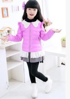free shipping !Han edition children's clothes down jacket