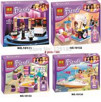 Hot Toy Bela Building Blocks Friends Assembling Blocks for Girl  Modlel Building Christmas Gift Free Shipping