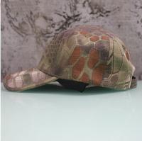 Rattlesnake python baseball cap / leisure hat / tactical baseball cap / outdoor travel baseball cap / street cap