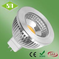 led light bulb warm white 450lm high power led gu5.3 12v  mr16 cob 5w