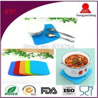 Wholesale BPA Free Heat Resistant Anti-slip Silicone Placemat