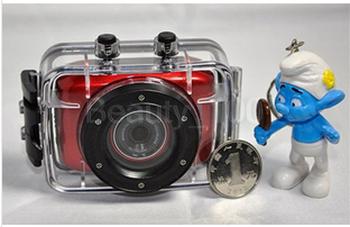 Спорт водонепроницаемый цифровая камера DV F5 водонепроницаемый видеокамера 20 M водонепроницаемый чехол DVR