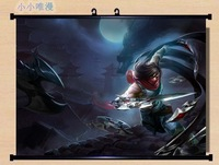 ~ HOME Decor Game Anime Poster Wall Scroll league of legends LOL ~Zed 200047