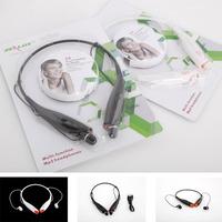 Big Promotion Neck hang mp3 earbuds  Zealot Z8 TF card read FM radio headphone Black white 1PCS Free Shipping