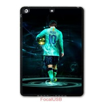 Football Sport European Golden Boot Messi Protective Black TPU Cover Case For iPad 5 Air/iPad Mini P05