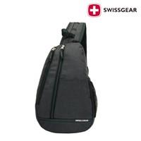 SG003 Free shipping Swiss Gear black Chest Bag single shoulder bag fashion messenger bag