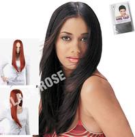 Free shipping cheap long synthetic wigs for women 99j hair color long straight hair sensationnel wigs 100 kanekalon hair
