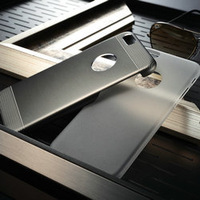 2 in 1 Aluminum Case For iPhone 6 4.7 inch Ultra-thin Back Cover For iPhone 6 Fashion Hard Back Phone Case with free gift 2014