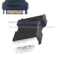 IDE Hard Disk Power Supply Adapter ,SATA 15PIN Pwoer Male Plug to Molex 4PIN IDE Male Hard Drive Converter, 5pcs , Free shipping