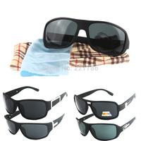 Black eye lenses color sunglasses men's eyewear , Outdoor fashion wayfarer Polarized sun glasses