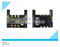 50pcs/lot sim card holder for Samsung I9100 I9188 I9108 sim card reader tray holder connector plug free shipping