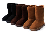 Winter Snow Boots 2014 New Spring Autumn  Middle Tube Warm Boots Shoes Free Shipping