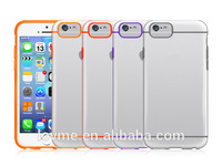 Clear Silicone Bumper Cover Case For iphone 6