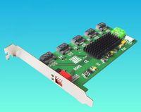 High Quality (5x1)-Ports Internal SATA2.0 Hard Disk Accelerator Card Multi-function Raid Card
