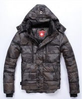 new wellensteyn 2014 brand winter male fashion men's casual thickening camouflage short design down jacket parkas coat outerwear