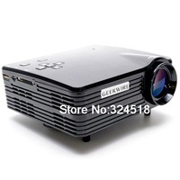 Geekwire LP 5A LCD 400 Lumens Home LED Projector 20 120 Inch Display Size Support HDMI/VAG/USB/AV/SD (US Plug)