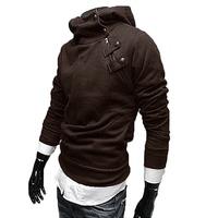 5 Color 2014 New Korean Style Autumn Winter Men Leisure Casual Zipper Sweatshirt Clothing Cotton Hoodies Jackets Coat