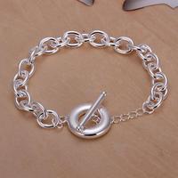 Wholesale! Free Shipping Wholesale 925 silver bracelet, 925 silver fashion jewelry Distortion Bracelet S0939