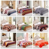 Home Textile,200*230cm,soft  fleece blankets on the bed, baby kids wedding adult blanket bedclothes,cover throw bed sheet(JS)