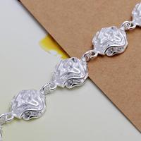Wholesale! Free Shipping Wholesale 925 silver bracelet, 925 silver fashion jewelry flower Bracelet for women  S0948