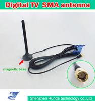 Free Shipping  High Gain Car Digital TV Aerial Mini TV Antenna