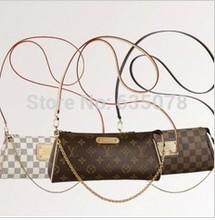 mulheres moda casual couro zíper bolsa eva novo mensageiro saco floral bom ombro saco n55214 m95567 n55213(China (Mainland))