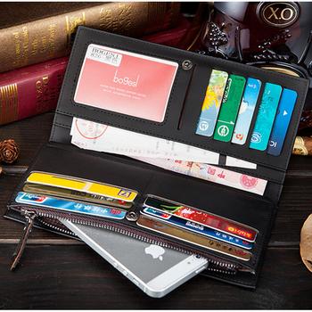 Новый 2014 мужчины кошельки известный бренд с бумажник с ID окна корейский валет ...