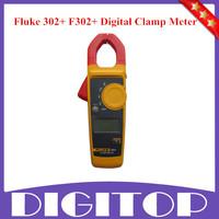 Original Fluke 302+ F302+ Digital Clamp Meter AC/DC Clamp Meter Multimeter Tester w/ Case Free Shipping