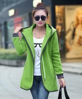 2014 Women's Coats Sports Clothes Women Letter Suits Winter School Wear Sweatshirt M-XXL WT0301
